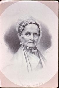 2. Lucretia Mott, circa 1870. Courtesy, American Antiquarian Society.