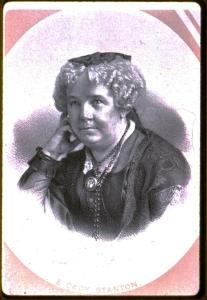 4. Elizabeth Cady Stanton, circa 1870. Courtesy, American Antiquarian Society.