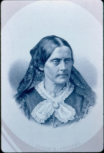 5. Susan B. Anthony, circa 1870. Courtesy, American Antiquarian Society.